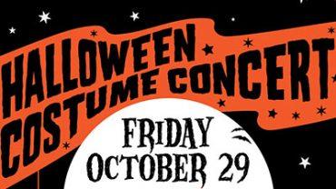 halloween costume concert